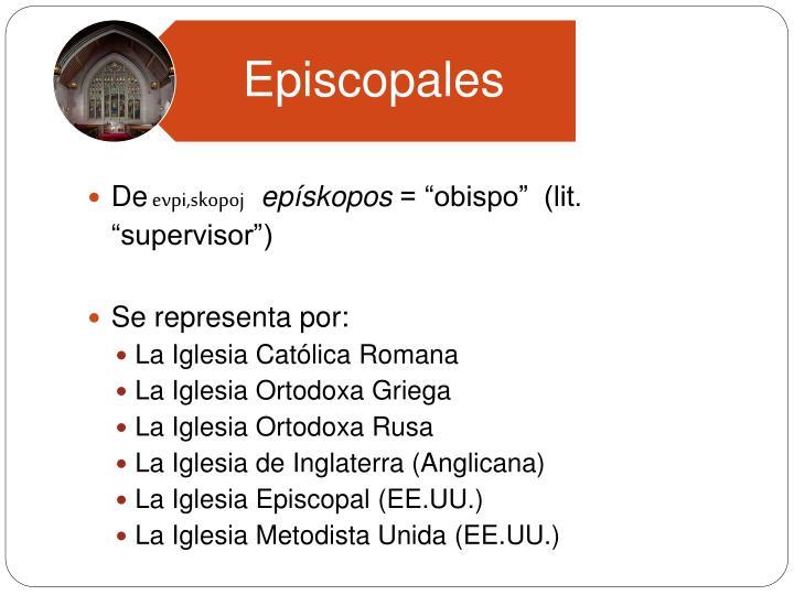 Episcopales