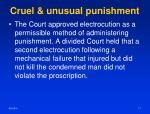 cruel unusual punishment2