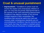 cruel unusual punishment3
