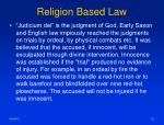 religion based law