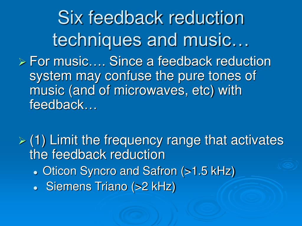 PPT - Musicians and Hearing Aids PowerPoint Presentation
