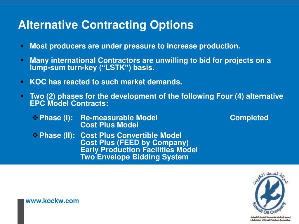 PPT - Kuwait Oil Company A Subsidiary of Kuwait Petroleum