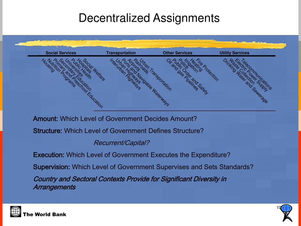 Decentralized Assignments