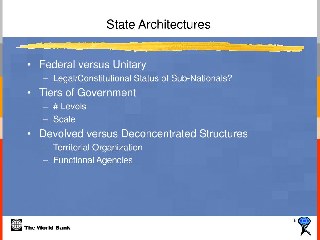 State Architectures
