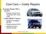 cool cars costly repairs