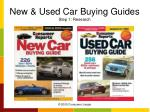 new used car buying guides step 1 research
