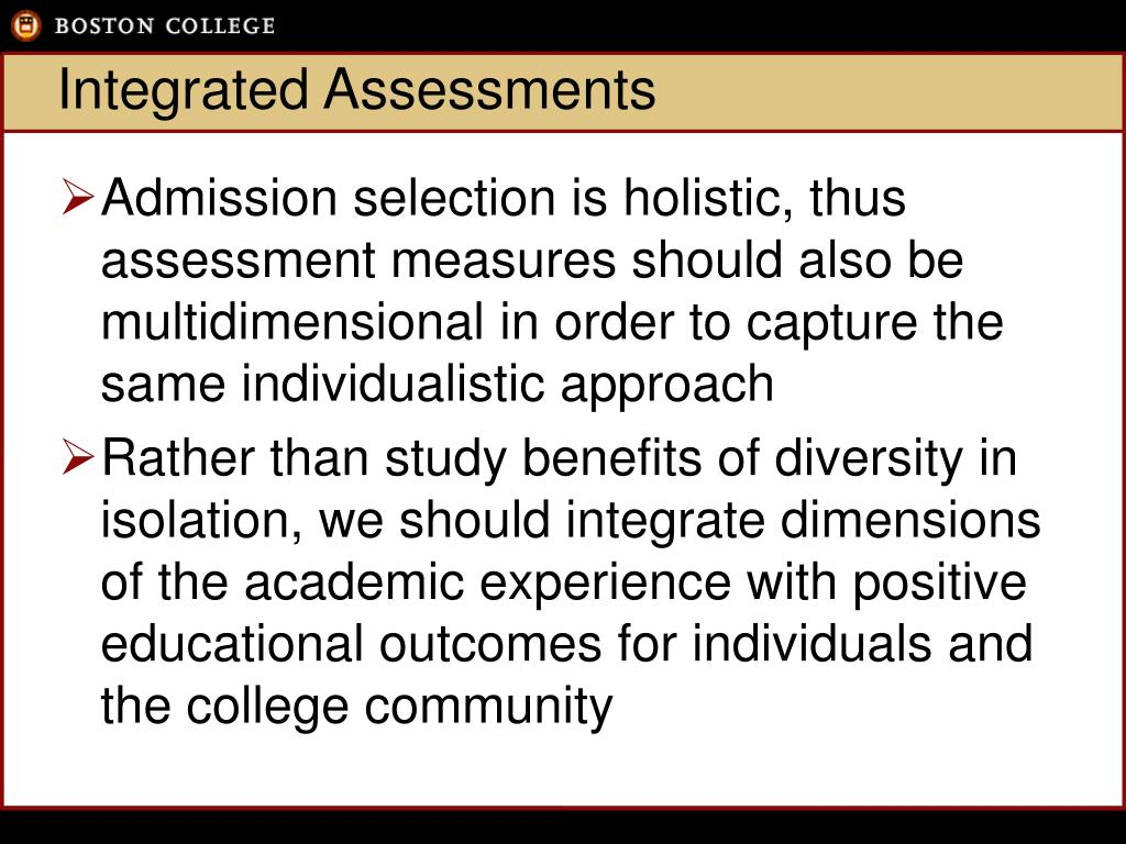 Integrated Assessments