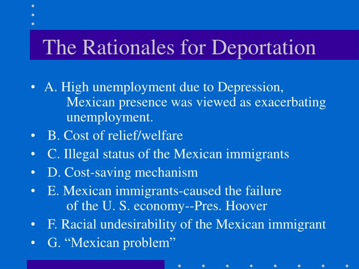 immigration causes Furthermore, immigration does not cause financial burden to the nation, but it helps to enhance america's economy further  the fear among some opponents that immigration causes job s.