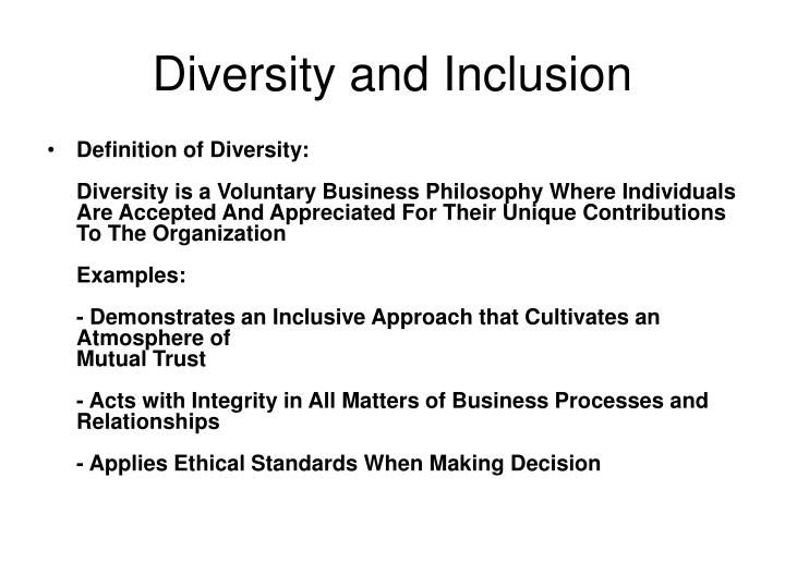 Diversity and inclusion3