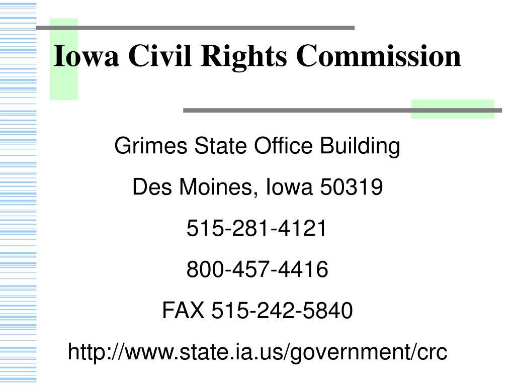 Iowa Civil Rights Commission