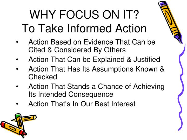 WHY FOCUS ON IT?