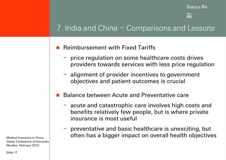 7. India and China – Comparisons and Lessons