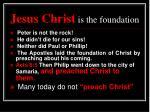 jesus christ is the foundation1