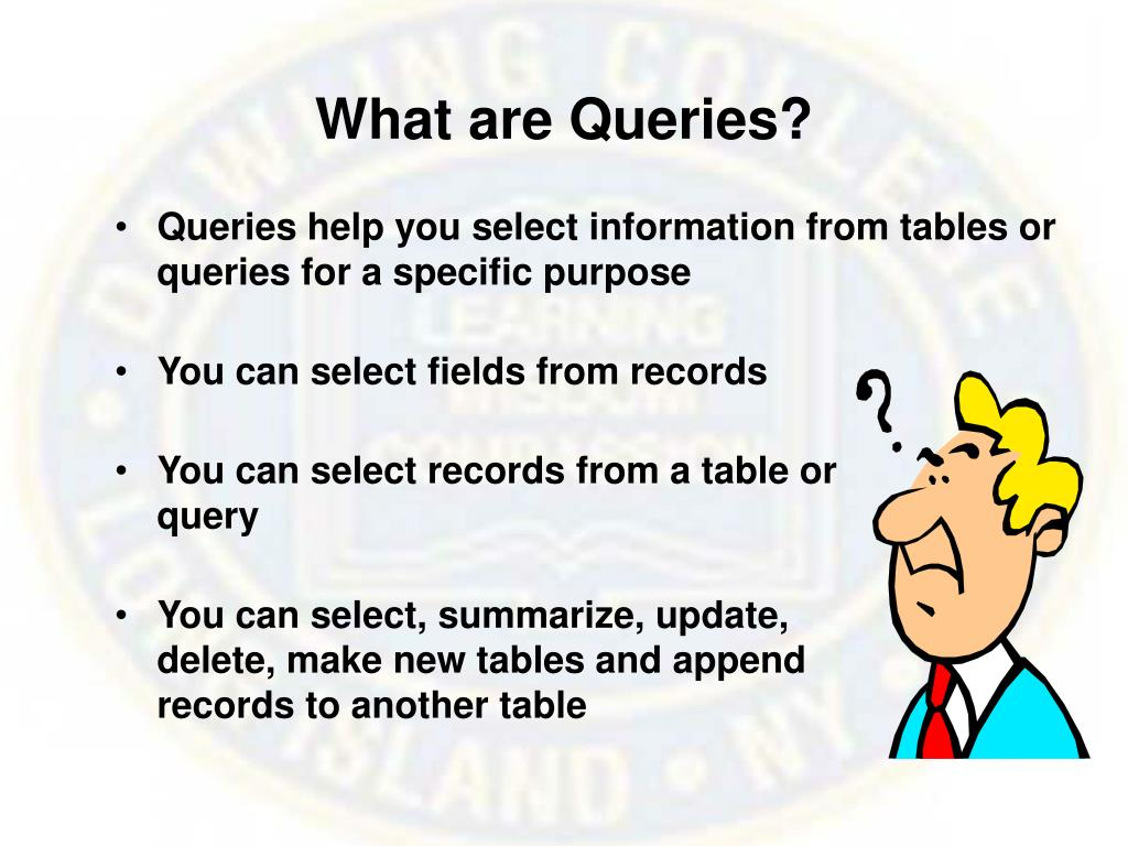 What are Queries?