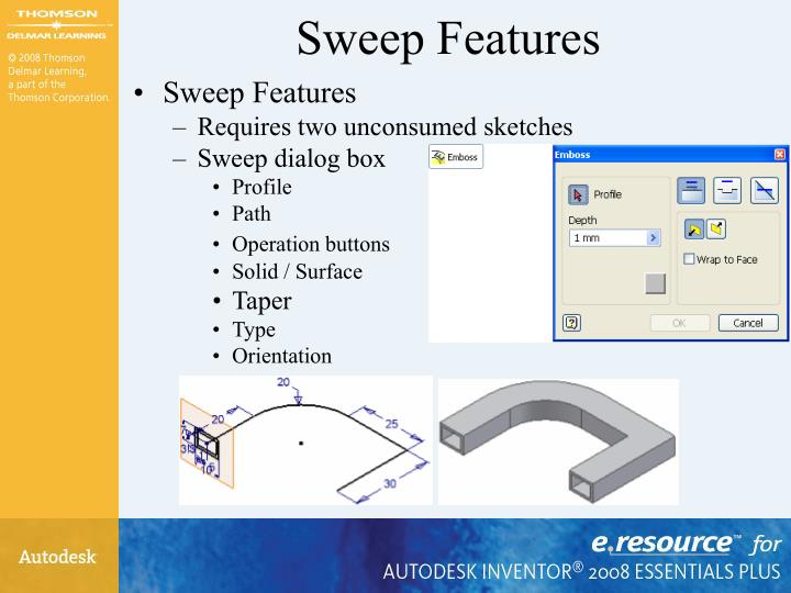 Sweep Features