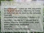 xslt extras more functions