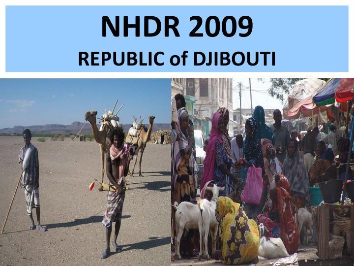 Nhdr 2009 republic of djibouti2