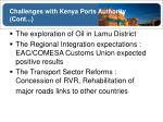 challenges with kenya ports authority cont