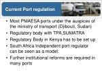 current port regulation