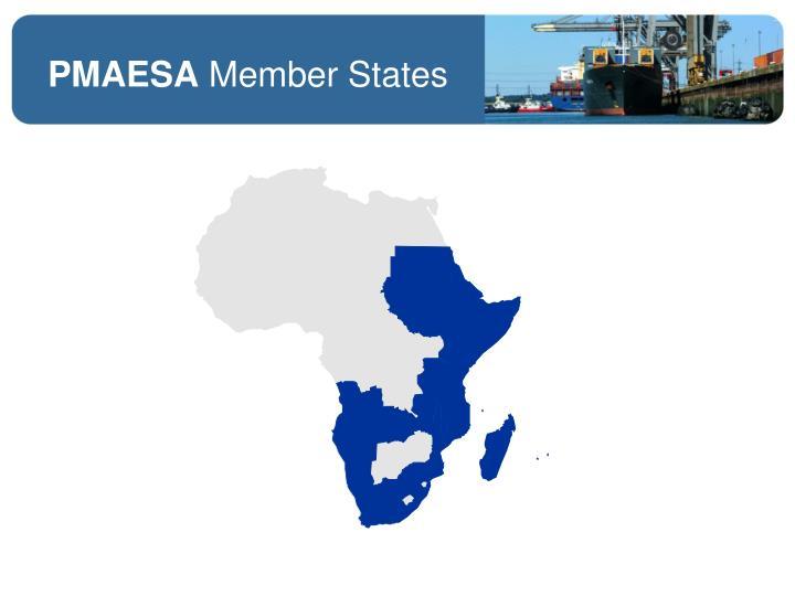 Pmaesa member states