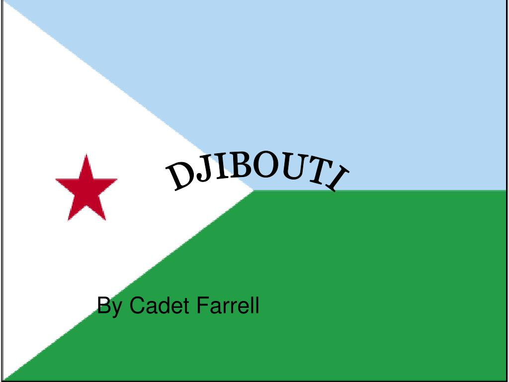 by cadet farrell l.