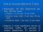 gulf of guinea maritime traffic