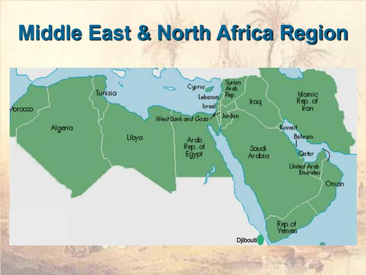 Middle east north africa region