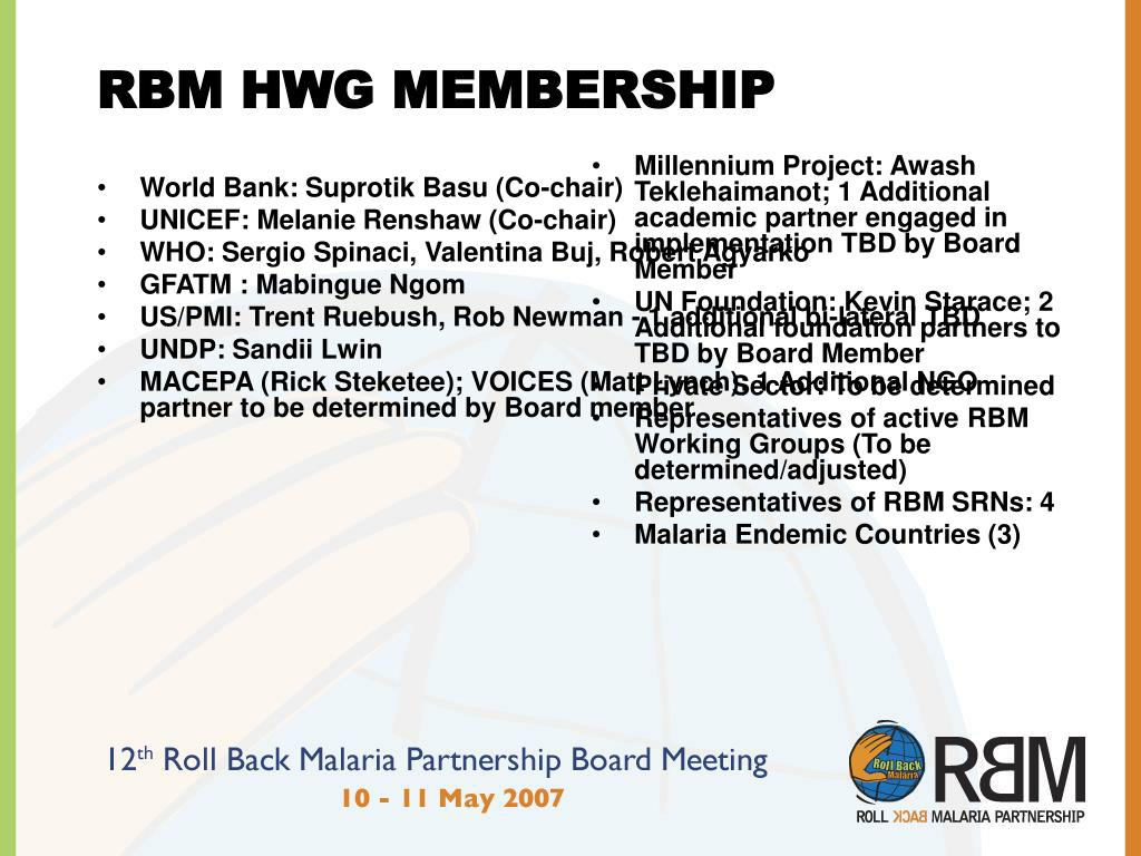 Millennium Project: Awash Teklehaimanot; 1 Additional academic partner engaged in implementation TBD by Board Member