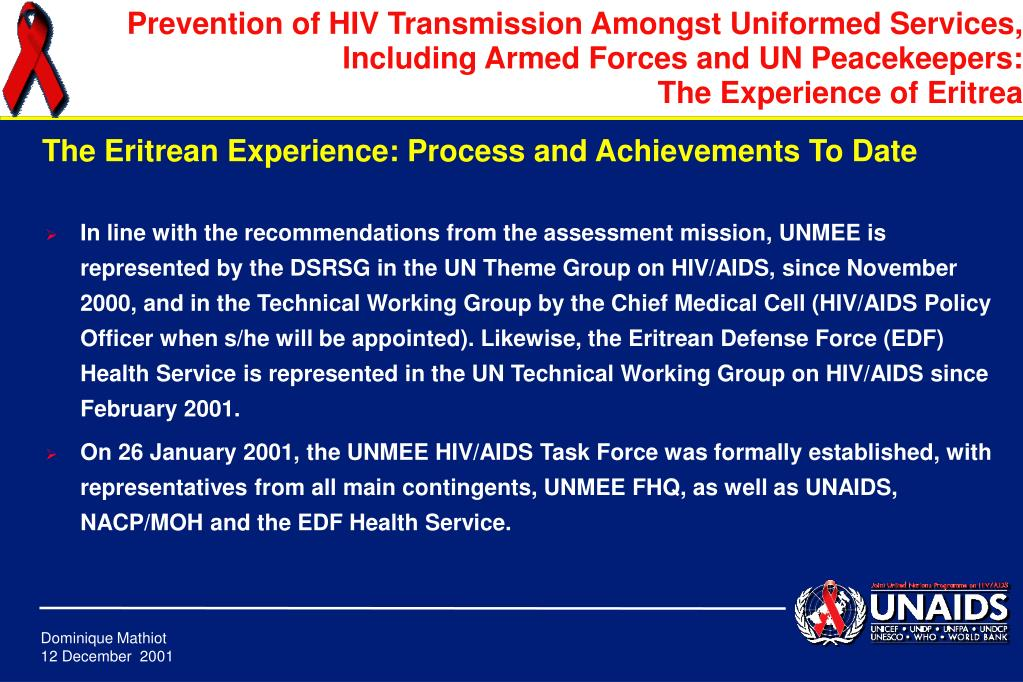 In line with the recommendations from the assessment mission,
