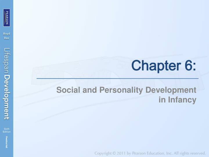 social and personality development in infancy n.