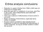 eritrea analysis conclusions