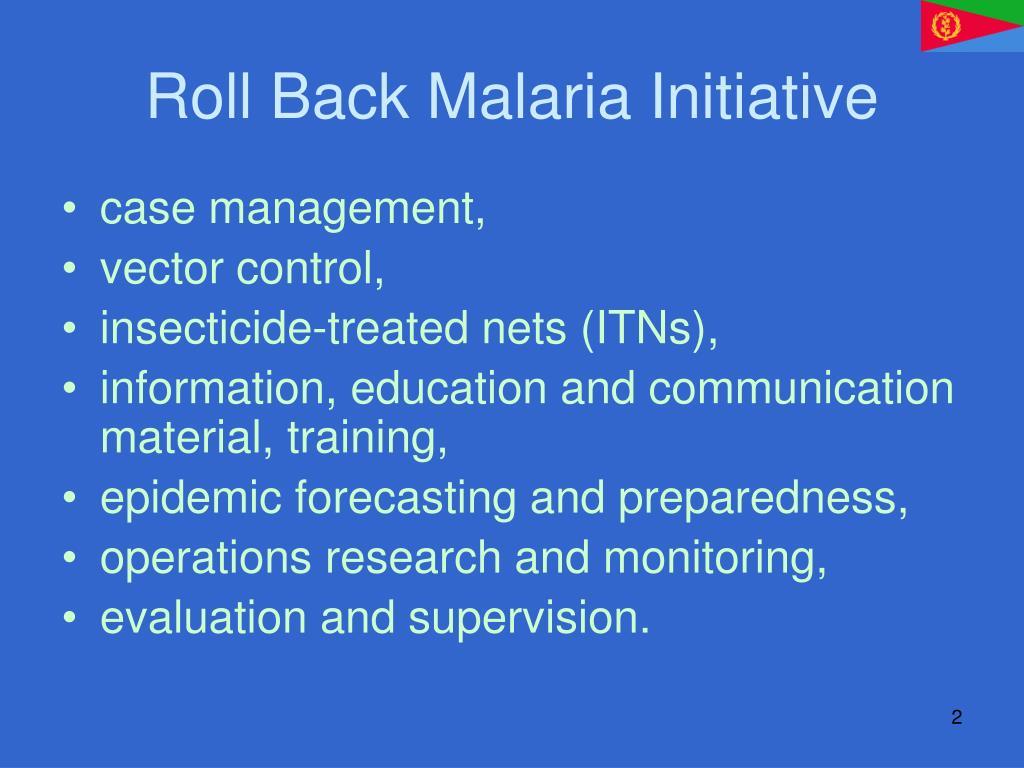Roll Back Malaria Initiative