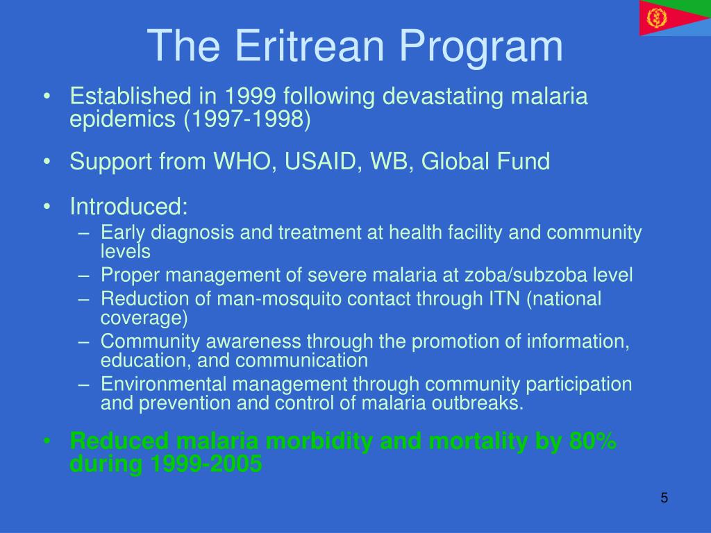 The Eritrean Program