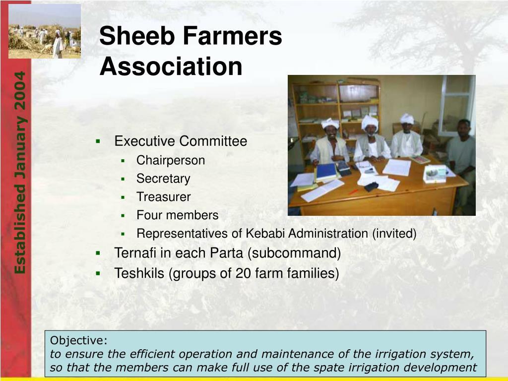 Sheeb Farmers Association