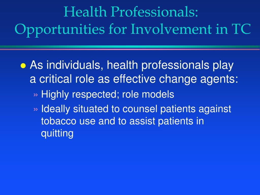 Health Professionals: