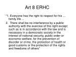 art 8 erhc