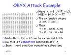 oryx attack example16