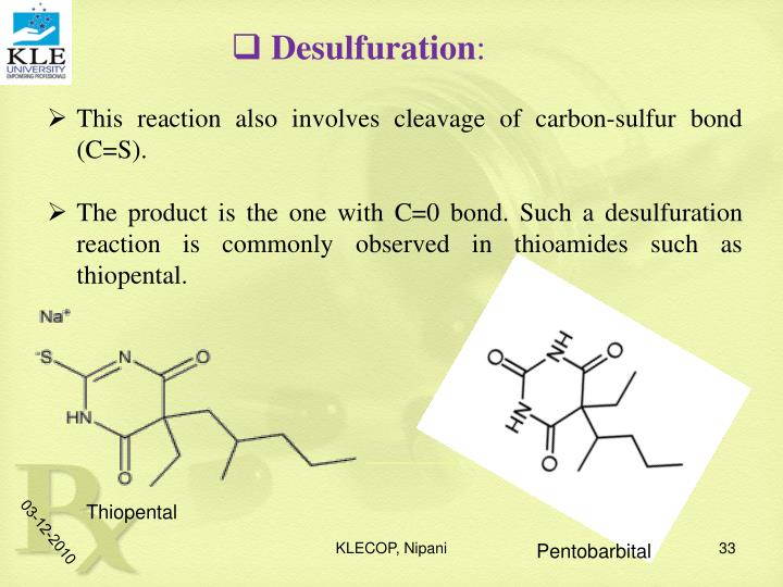 Desulfuration