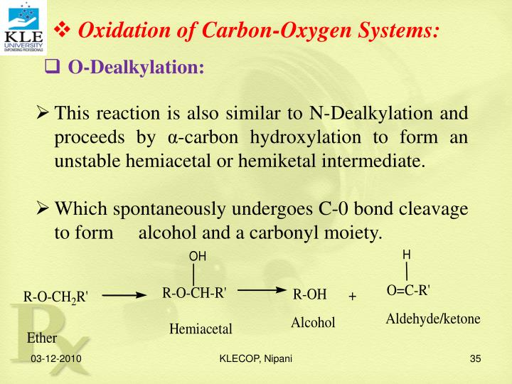 Oxidation of Carbon-Oxygen Systems:
