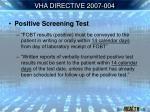 vha directive 2007 00411