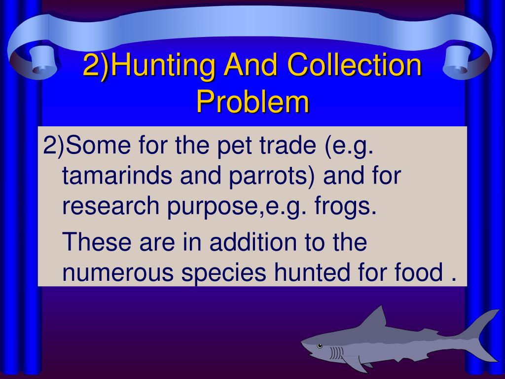 2)Hunting And Collection Problem