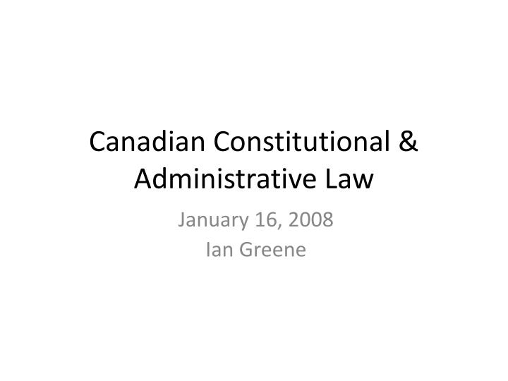 essays on the constitutional aspects of canadian law and politics Constitutional law revision essay question: 1) it is true to state that the united kingdom does not have a words 2389 - pages 10 politics: law and constitutional rights essay the law and protect civil liberties majority of canadians summary conviction offences summary conviction offence.