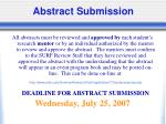 abstract submission40