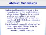 abstract submission41