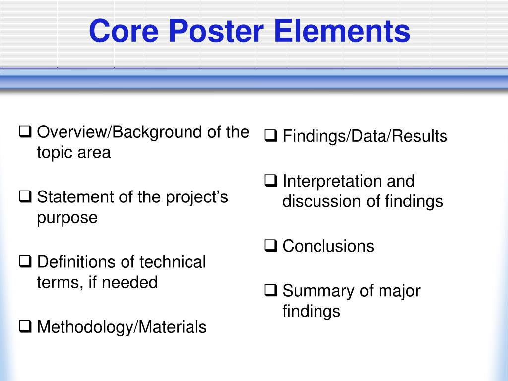 Overview/Background of the topic area