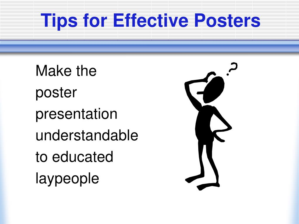 Tips for Effective Posters