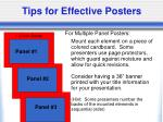 tips for effective posters25