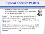 tips for effective posters28