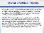 tips for effective posters29