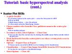 tutorial basic hyperspectral analysis cont10